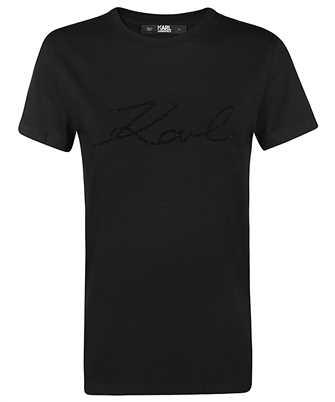 logo rhinestones T-shirt