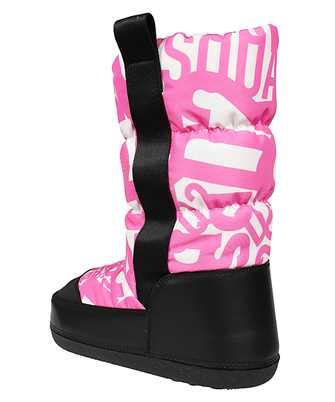 grafitti logo snow boots