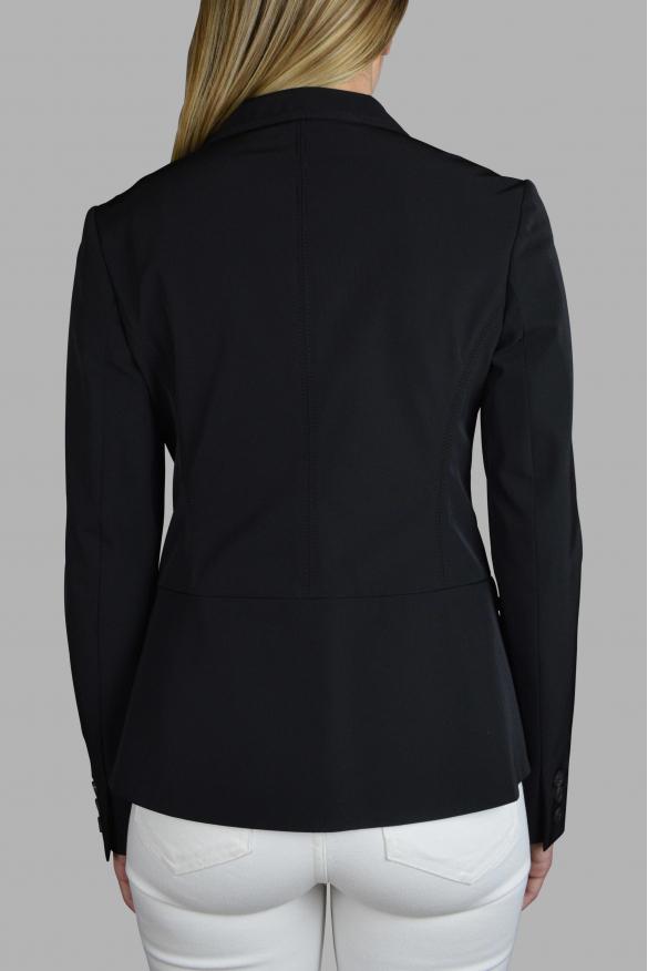 Women's luxury jacket - Prada black jacket with small front pockets