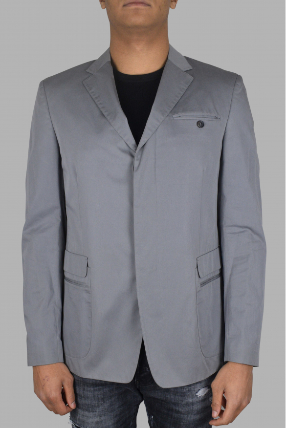 Men's luxury jacket - Prada jacket in gray cotton