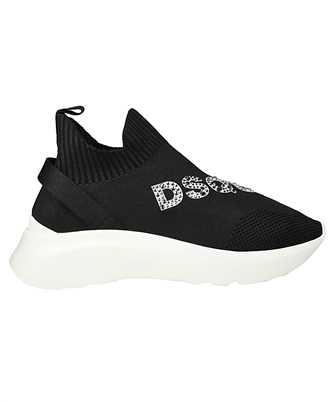 logo embellished sneakers