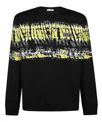 Valentino TIE-DYE PANEL LOGO PATCH Sweatshirt