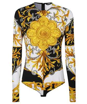 baroque-print T-shirt