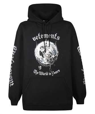 vetements motorhead hoodie