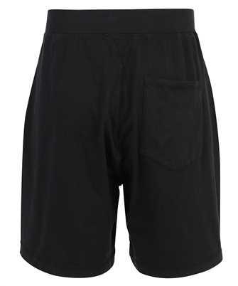 logo-print track shorts