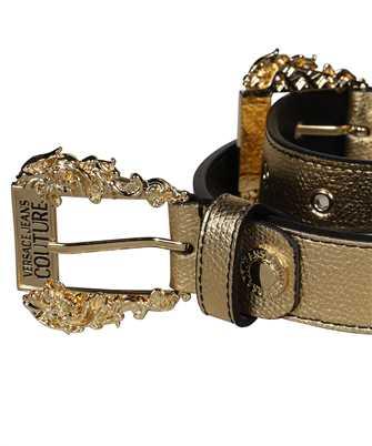 baroque-buckle metallic belt