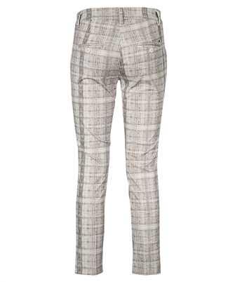 Mason's SHADED CHECK PRINT NEW YORK SLIM CHINO Trousers