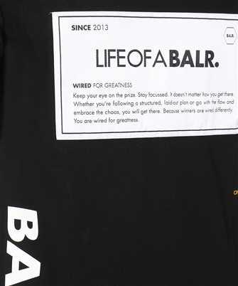 black/white label club t-Shirt