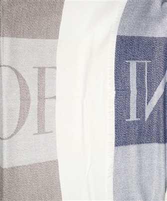 emporio armani woven 73x scarf