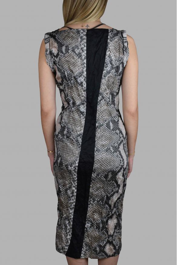 Luxury dress for women - Prada python print dress