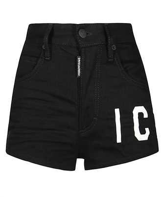 black 'icon' shorts