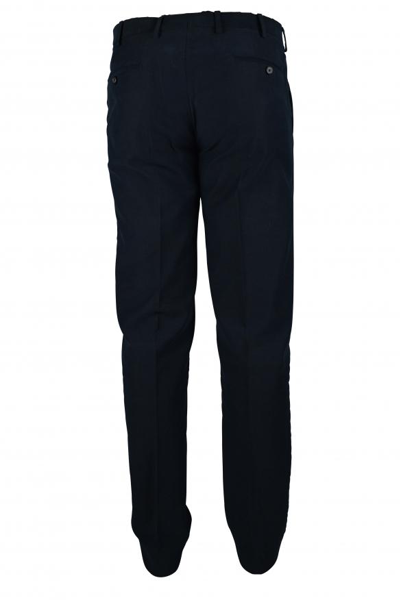 Luxury pants for men - Prada navy blue pants