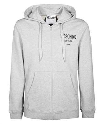 moschino moschino couture cotton hoodie