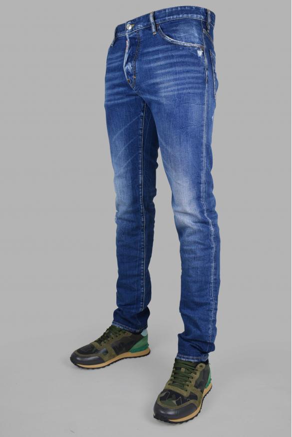 Men's designer jeans - Cool Guy Jean Dsquared2 blue faded
