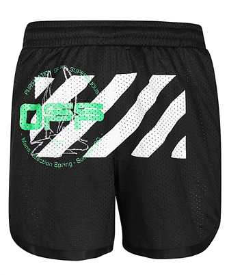 off-white harry the bunny mesh shorts
