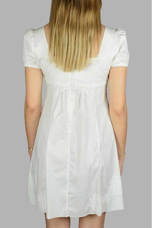Luxury dress for women - Dolce & Gabbana white short sleeve dress