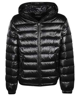 dolce & gabbana nylon quilted jacket