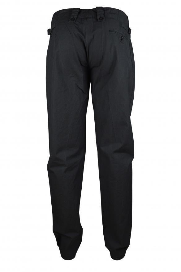 Luxury trousers for men - Dolce & Gabbana dark gray trousers