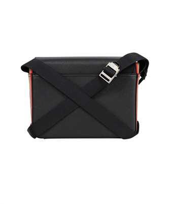 Burberry ICON STRIPE PRINT GRAINY LEATHER MESSENGER Bag