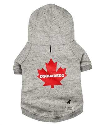 Dsquared2 D2 x POLDO RED LEAF Dog sweatshirt