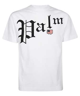 palm angels new gothic t-shirt