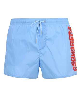 ombre logo swim trunks