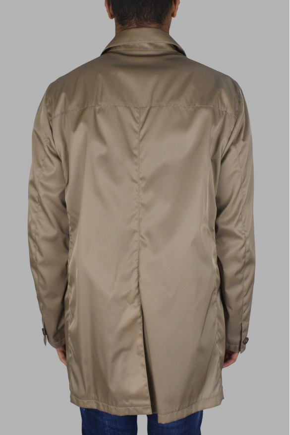 Men's luxury coat - Prada beige coat