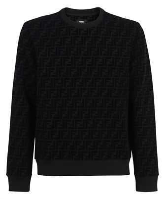Fendi FF PIQUET PRINT Sweatshirt