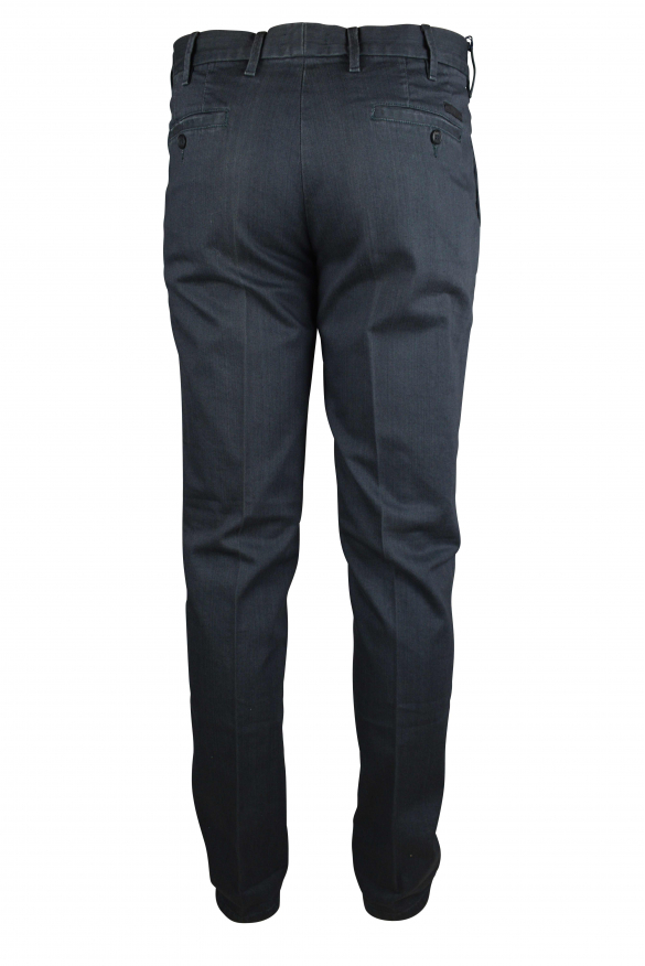 Luxury trousers for men - Prada gray jeans effect trousers