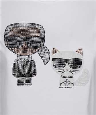 Karl Lagerfeld IKONIK RHINESTONE T-shirt