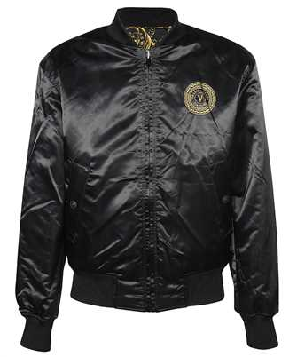 versace jeans couture reversible bomber jacket