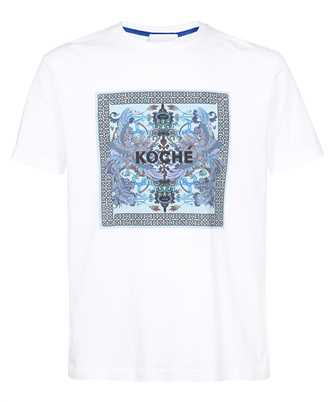 Kochè PHOENIX FOULARD PRINT T-shirt