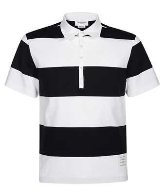 thom browne rugby stripe polo