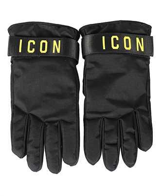 icon print gloves
