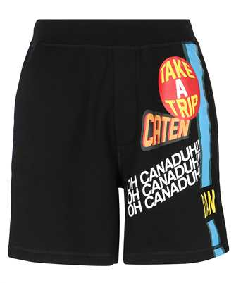 dsquared2 traveller patch shorts