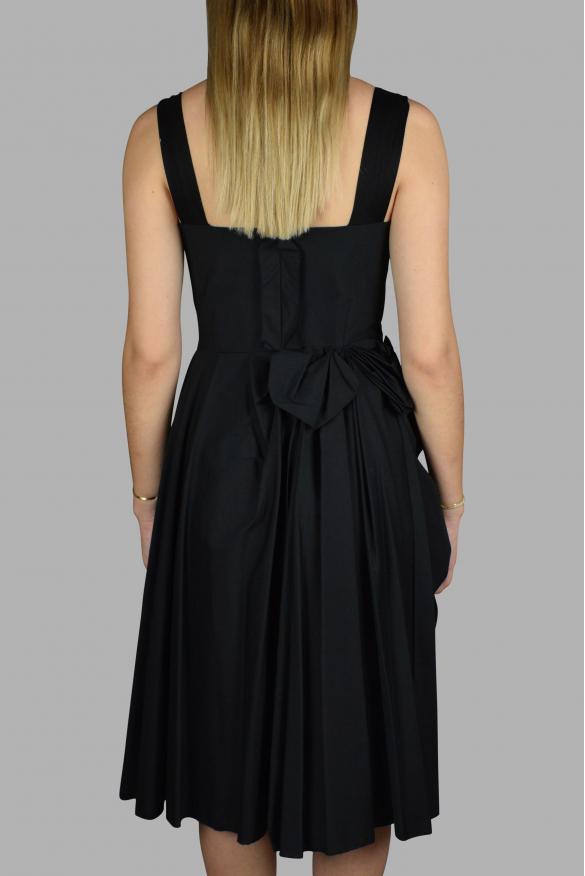 Luxury dress for women - Prada black and loose strap dress
