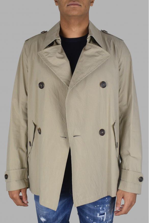 Men's luxury coat - Prada khaki coat