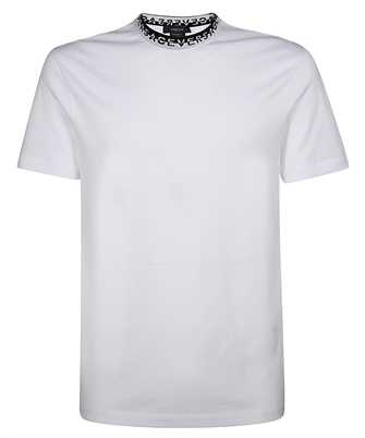 Versace LOGO COLLAR T-shirt