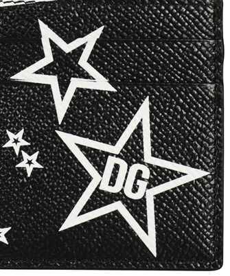 star print cardholder