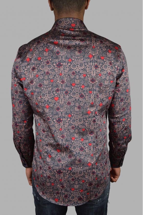 Luxury shirt for men - Milano Casino Billionaire salmon shirt