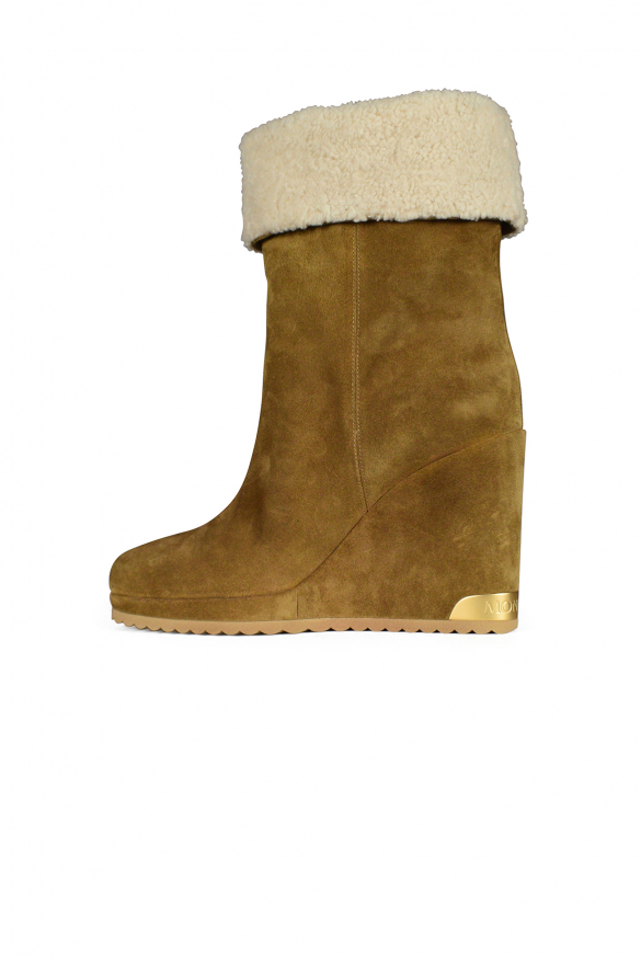 Women's luxury boots - Zannie brown leather boots