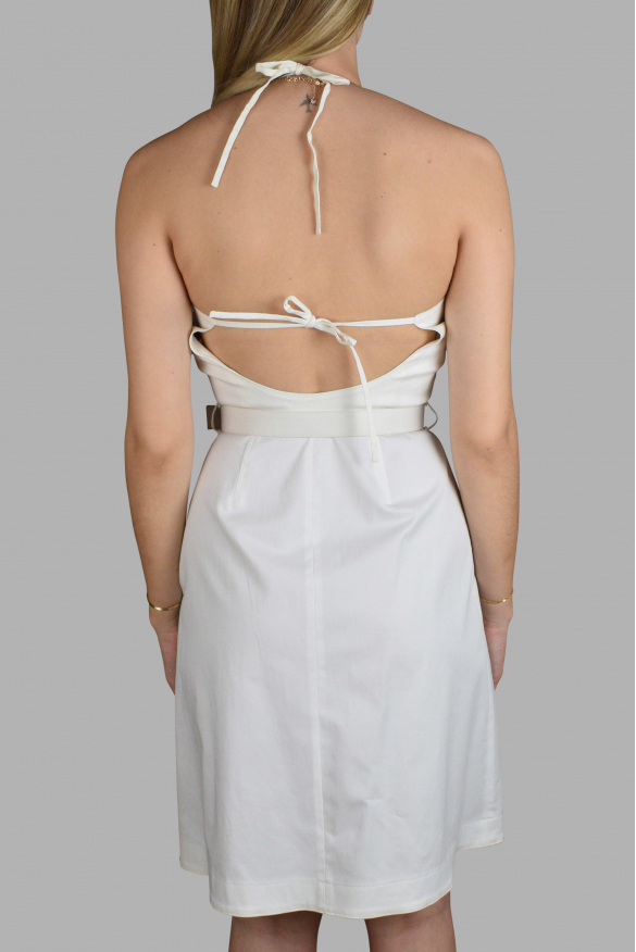 Luxury dress for women - Prada white strappy dress