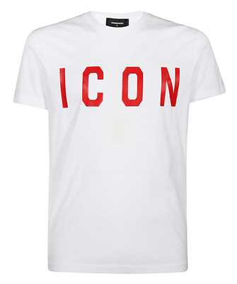 dsquared2 s74gd0601 s22427 print t-shirt