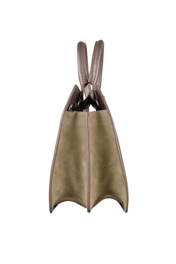 Luxury handbag - Jimmy Choo medium Riley beige handbag