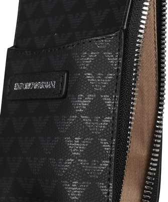 emporio armani zip card holder