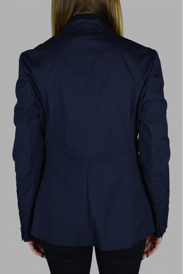 Women's luxury jacket - Prada light blue jacket with buttons