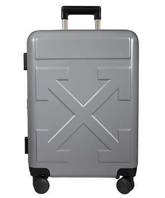 off-white grey quote suitcase
