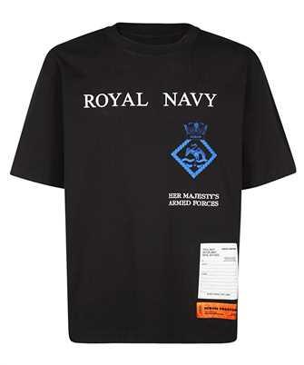 heron preston royal navy t-shirt