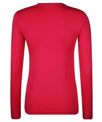 rhinestone-embellished long-sleveed T-shirt
