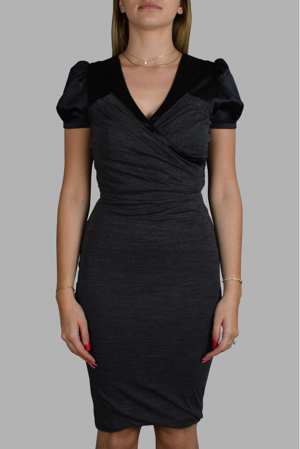 Luxury dress for women - Dolce & Gabbana dress in heather gray color